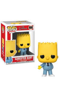 The Simpsons Gangster Bart